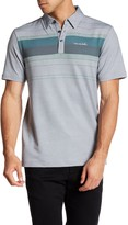 Travis Mathew Meeker Contrast Stripe Polo