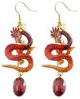 Butler & Wilson Butler and Wilson Flying Dragon Drop Earrings