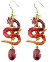 Butler & Wilson Butler and Wilson Flying Dragon Drop Earrings