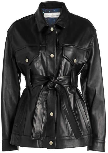 Golden Goose Pictor Leather Jacket