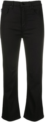 Love Moschino Cropped Fit Trousers