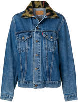 R 13 denim jacket