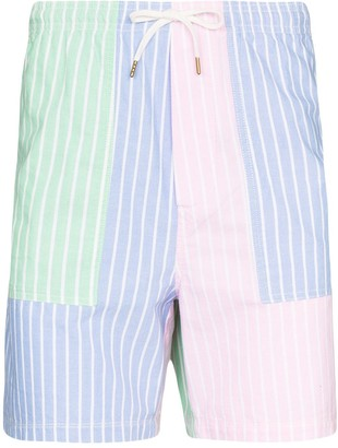 Polo Ralph Lauren Striped Colour Block Bermuda Shorts
