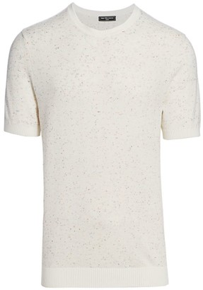 Nominee Donegal Pique Short-Sleeve Sweater