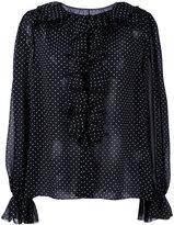 Dolce & Gabbana polka dot blouse