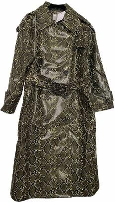 Asos Green Trench Coat for Women