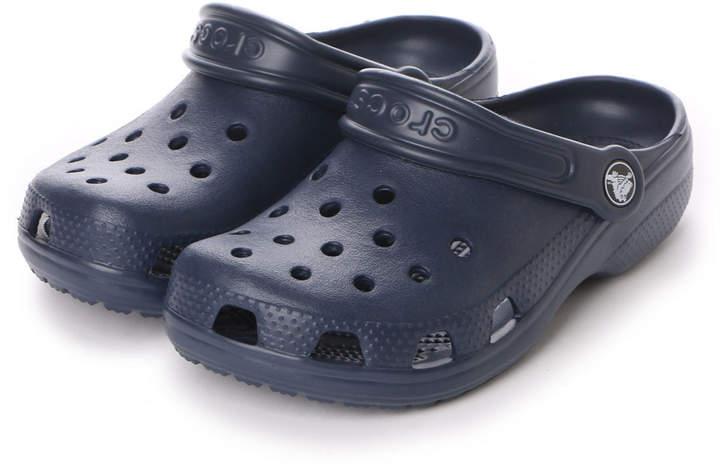 Crocs (クロックス) - クロックス crocs ジュニアサンダル CRクラシック NV ネイビー