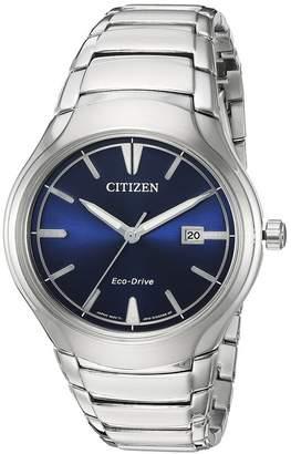 Citizen Men's Eco-Drive Analog Quartz Bracelet Watch, 40mm