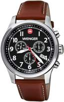Wenger 010543102 - Men's Watch, Leather, Brown Tone