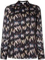 Diane von Furstenberg printed shirt - women - Silk/Polyester/Spandex/Elastane - 6