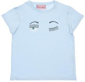 Chiara Ferragni Embellished Flirting Eye Jersey T-shirt