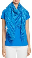 Eileen Fisher Fringe Trim Scarf