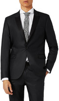 Topman Skinny Fit Liquid Tuxedo Jacket