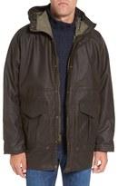 Filson Men's All-Season Waterproof Hooded Raincoat