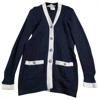 Chanel Blue Cashmere Jackets