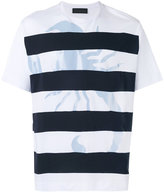 Diesel Black Gold striped T-shirt - men - Cotton - L