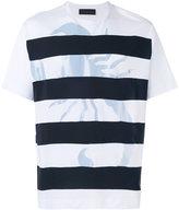 Diesel Black Gold striped T-shirt