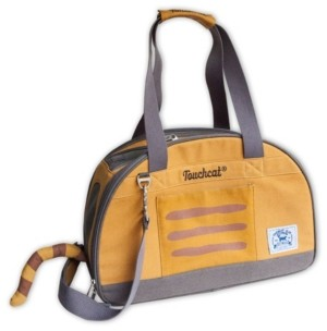 Touchcat 'Tote-Tails' Designer Airline Approved Collapsible Cat Carrier