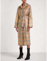 Burberry Vintage Check PVC trench coat