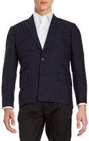 Carlos Campos Textured Two-Button Blazer