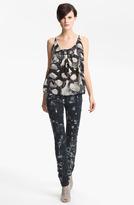 Kelly Wearstler 'Sapphire' Silk Tank