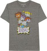 Novelty T-Shirts Rugrats and Reptar Short-Sleeve Crewneck Tee