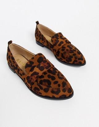 Raid Ashley loafers in leopard