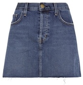 Current/Elliott The Mini Cut-Off jean skirt