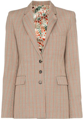 Paco Rabanne Heritage check blazer