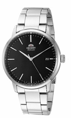 Orient Men's Maestro Japanese Automatic Stainless Steel Strap Silver 20 Casual Watch (Model: RA-AC0E01B10A)