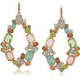 Carolee Cosmopolitan Club Hoop Drop Earrings