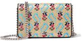 Miu Miu Mogador Floral-brocade Shoulder Bag - Gold