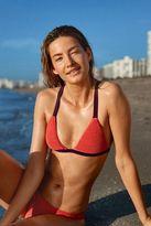 aerie Beaded Triangle Bikini Top