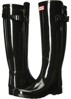Hunter Original Refined Back Strap Gloss Women's Rain Boots