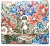 Ermanno Scervino floral print bi-fold wallet - women - Cotton/Polyester - One Size