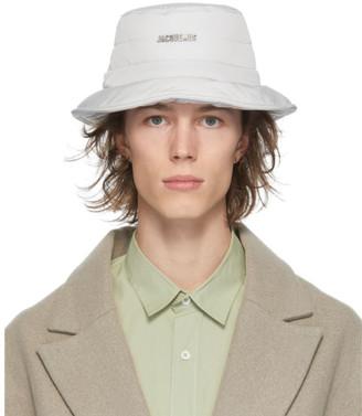 Jacquemus Grey Le Bob Doudoune Bucket Hat