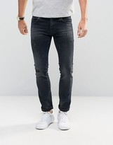Sisley Jeans In Slim Fit With Distressed Detail