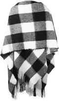 Golden Goose Deluxe Brand checked poncho - men - Wool - One Size