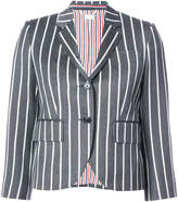 Thom Browne Classic Single Breasted Sport Coat In Bold Blazer Stripe Wool/ Cotton
