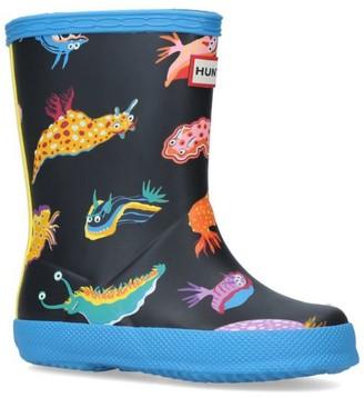 Hunter Classic Sea Monster Wellington Boots