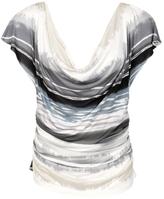 Watercolor Striped Top