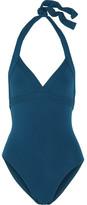 Eres Les Essentiels Cassis Halterneck Swimsuit - Blue