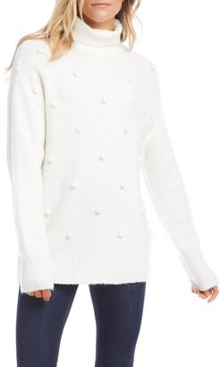Karen Kane Pompom Detail Sweater