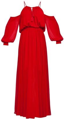 Cliché Reborn Cold Shoulder Maxi Summer Dress