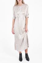 Isabel Marant Printed Wave Pattern Dress