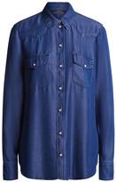 Set Fashion - Casual Denim Shirt - 36 | blue - Blue/Blue