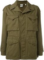 Aspesi front pockets coat - women - Cotton - M