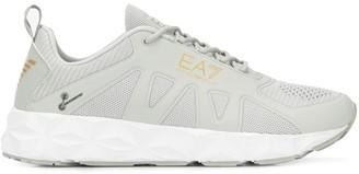 Emporio Armani Ea7 logo print sneakers