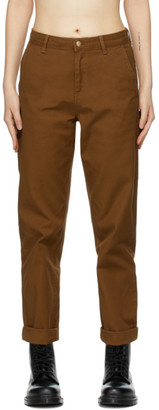 Carhartt Work In Progress Brown Pierce Jeans