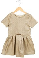 Lili Gaufrette Girls' Metallic Short Sleeve Dress w/ Tags
